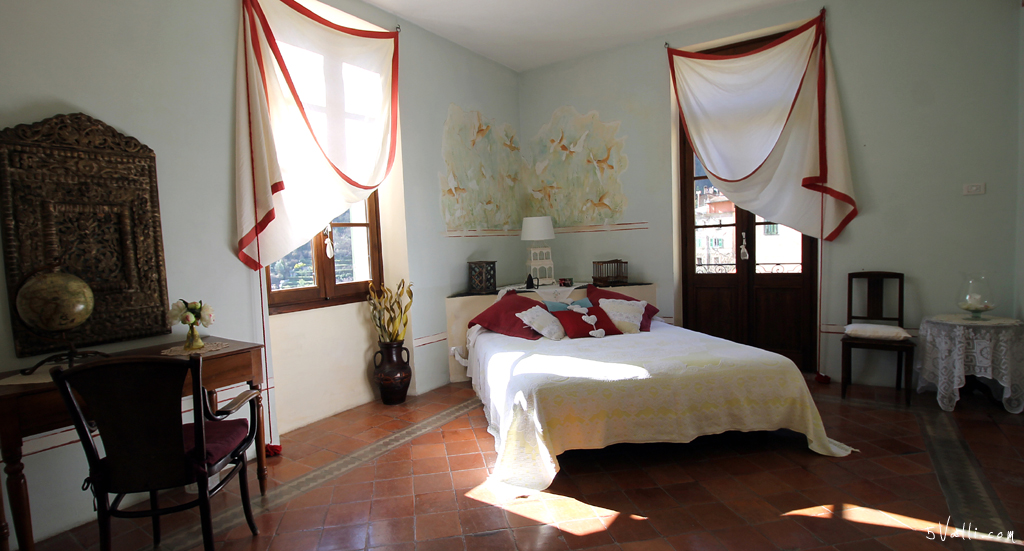 Les Frêsqes camera matrimoniale/twin beds