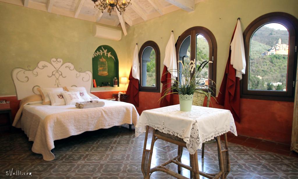 La Petite Merveille camera matrimoniale la loggia