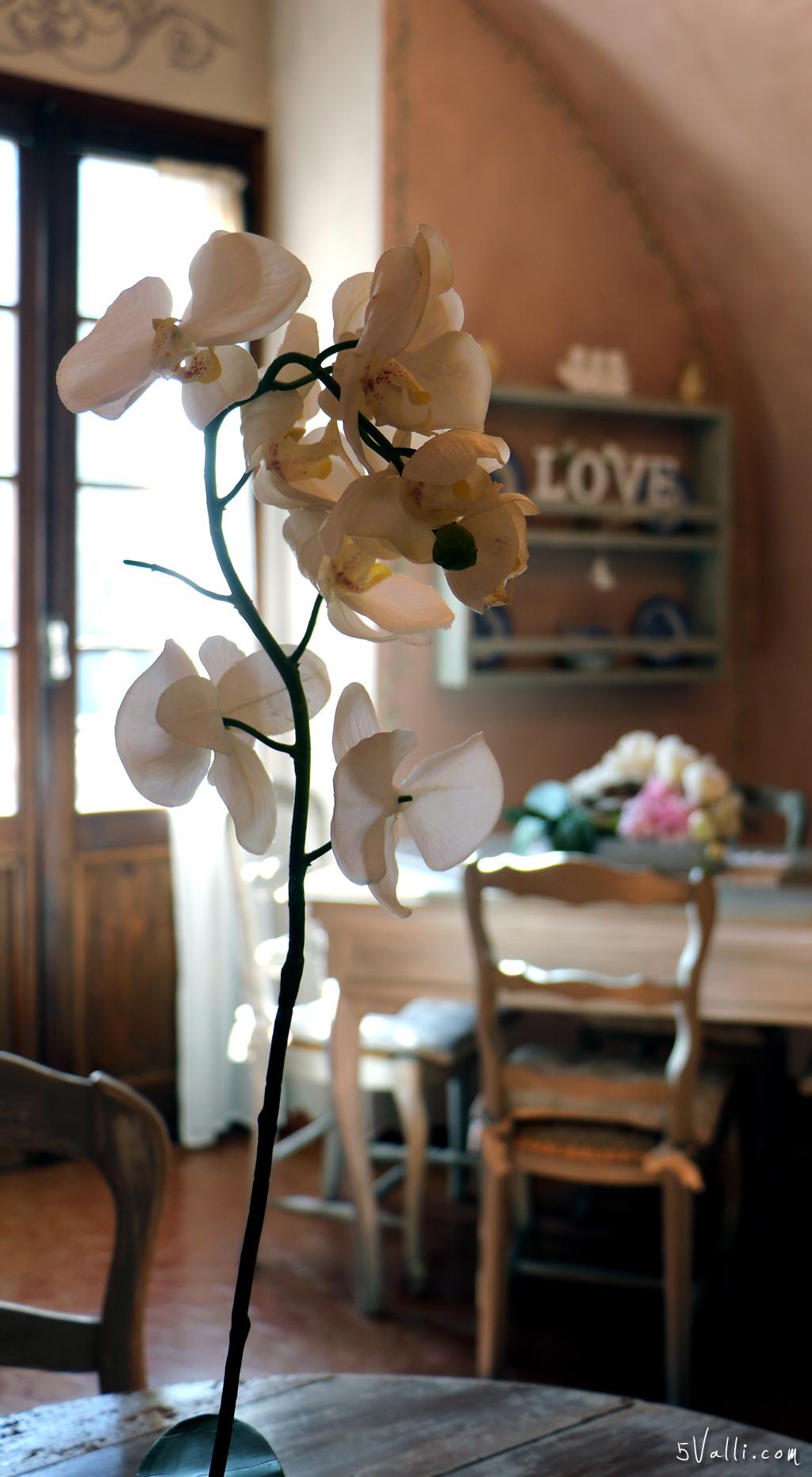 Sala colazione dettagli