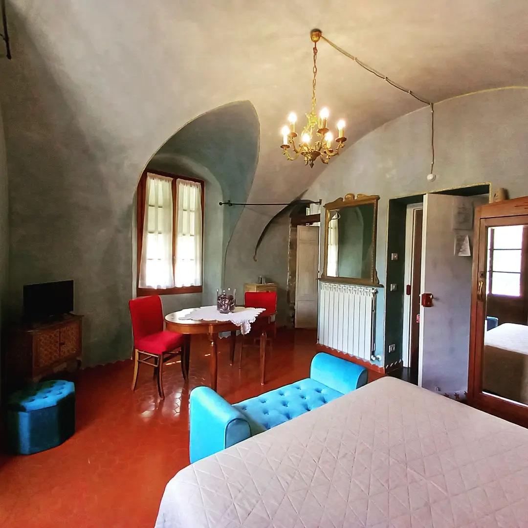 Dans tes Bras double bedroom with terrace