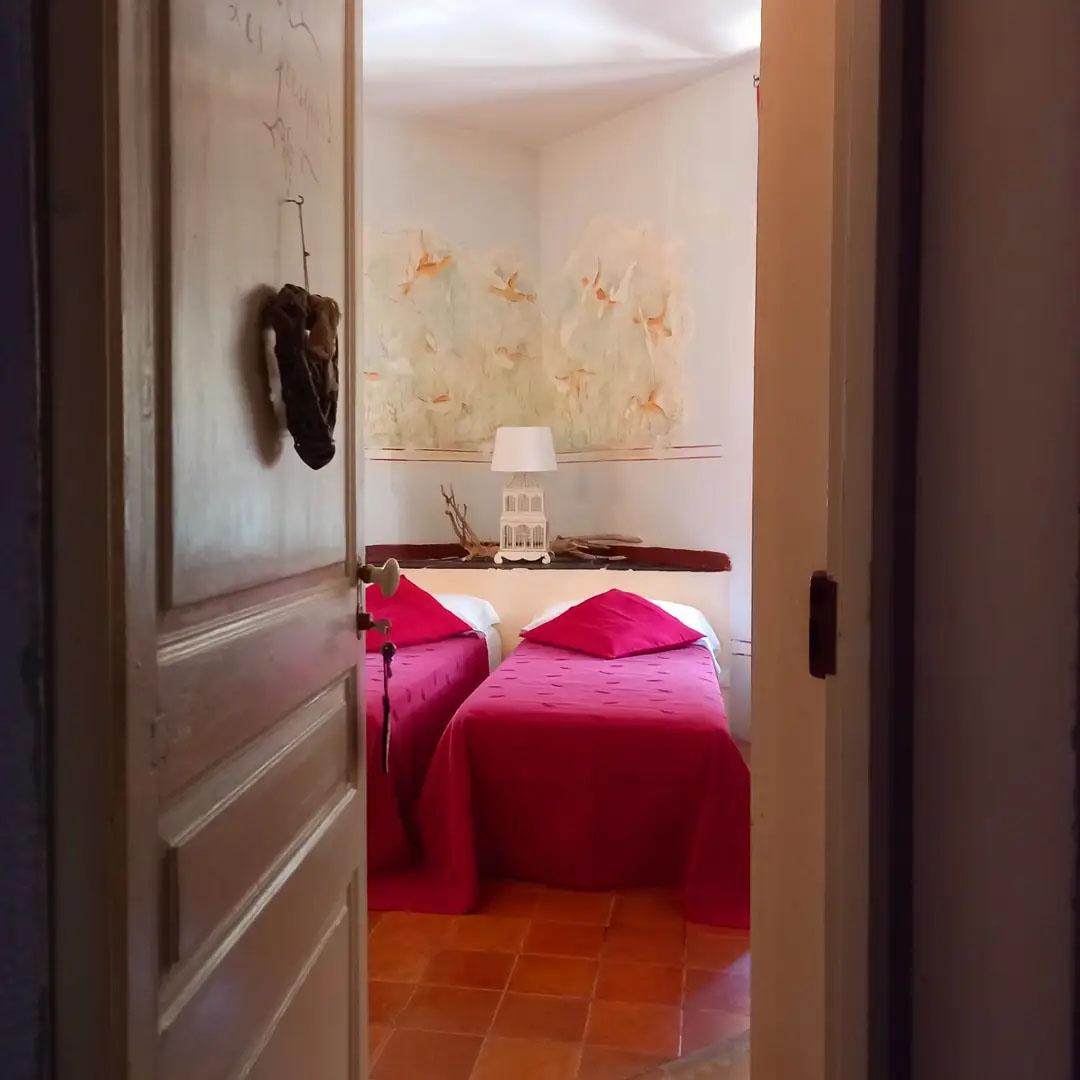 Les Frêsqes double room / twin beds